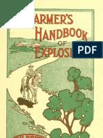 The Farmers Handbook of Explosives USA 1911