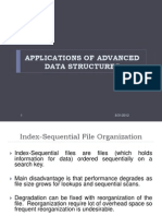 Applications of Advance Data Structures