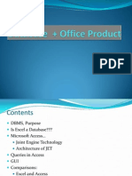Database + Office Product