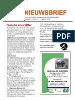 NIEUWSBRIEF 2012-08