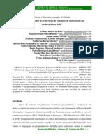 Cinema e Literatura No Ensino de Biologia - Investigação e análise de preferências de estudantes de ensino médio em escolas públicas do DF