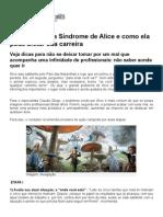 Sindrome Da Alice