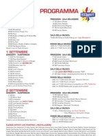 PROGRAMMA BOOMART 2012