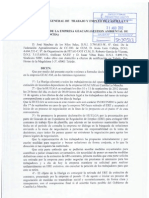 Declaración de huelga en Geacam