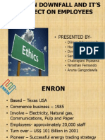 ENRON DOWNFALL AND ITS' EFFECT ON EMPLOYEES (2)