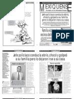 Versión impresa del periódico El mexiquense 28 agosto 2012