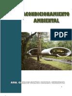 Texto Universitario - Acondicionamiento Ambiental