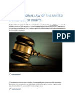 Constitution Law of United States