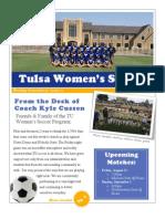 Tulsa Women's Soccer Newsletter