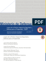Logros Sector Defensa Colombia primer semestre