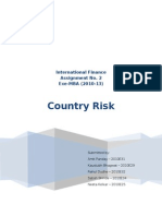 International Finance_Country Risk