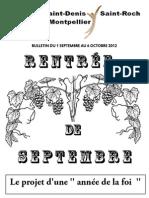Bulletin Septembre