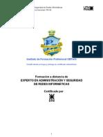 Temario Experto en Admin y Seguridad de Redes