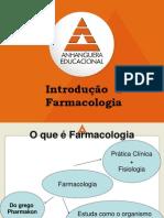 Aula 1 -Introdução à Farmacologia