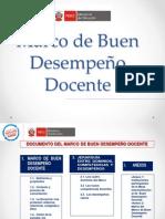 PPT Marco de Buen Desempeño Docente_JORNADAS