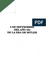 Los ovnis de Hitler contra el Nuevo Orden Mundial escrito por Miguel Serrano