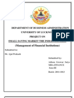 small saving market
