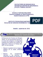 Diapositivas Panorama de Factores de Riesgos (GoNaBe) 2012