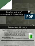 Biochemistry of Arsenic Poisoning