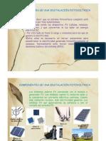Componentes de Una Instalacion FV