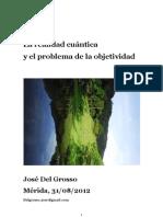 LA REALIDAD CUÁNTICA Y EL PROBLEMA DE LA OBJETIVIDAD