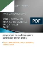 Programas Para Descargar y Optimizar Driver Gratis