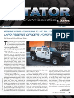LAPD Reserve Rotator Newsletter  Fall 2008