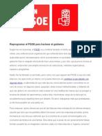 Reprogramar El PSOE Para Hackear El Gobierno