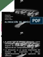 ALINEACIÓN DE VEHÍCULOS