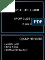 Seminar on Logic Gates Simulator