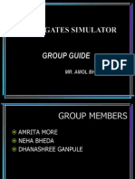 Seminar on Logic Gates Simulator