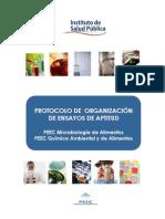 PROTOCOLO DE  ORGANIZACIÓN DE ENSAYOS DE APTITUD PEEC_0