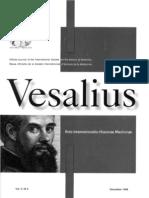 Academic Journal Vesalius, Spanish brief, Congress Andres Laguna