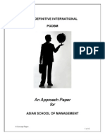 Approach Paper 21022012