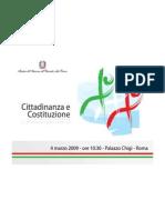 Presentazione Citt e Cost - Ministro