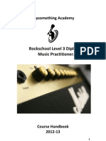 Course Handbook Level 3 PS RS Dip