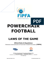 FIPFA Laws of the Game
