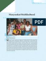 4. Masyarakat Multikultural