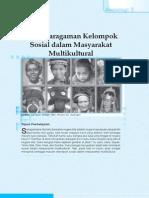 6. Keragaman Kelompok Sosial Dalam Masyarakat Multikultural