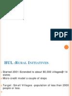 HUL Rural Marketing