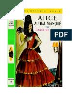 Caroline Quine Alice Roy 03 BV Alice au Bal Masqué 1953