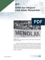 2. Konflik Dan Integrasi Sosial Dalam Masyarakat