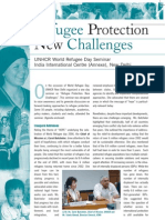 Refugee Protection - New Challenges UNHCR