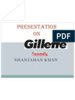 presentation on gillette