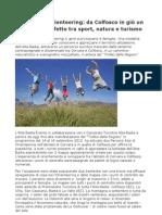 Orienteering Corvara Colfosco un cammino naturalistico e scenografico mozzafiato