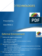 Wipro Technologies - Strategic Analysis