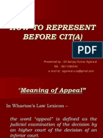Cit Appeal Procedure