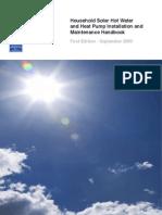 Household Solar Installation Handbook