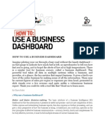 How to Use Business Dashboard Inc 9dot9 April 2010 100503090327 Phpapp01