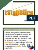 Aula de revisão Estatística